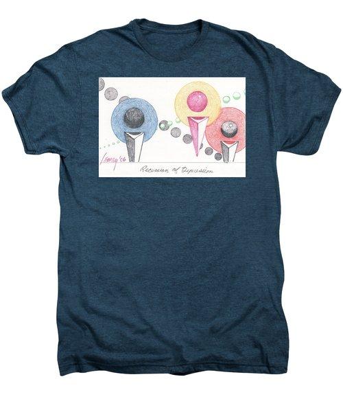 Recession Of Depression 1 Men's Premium T-Shirt