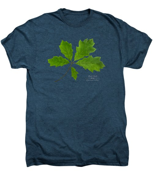 Men's Premium T-Shirt featuring the photograph Red Oak by Christina Rollo