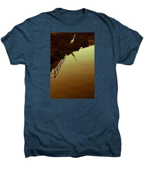 Elegant Bird Men's Premium T-Shirt