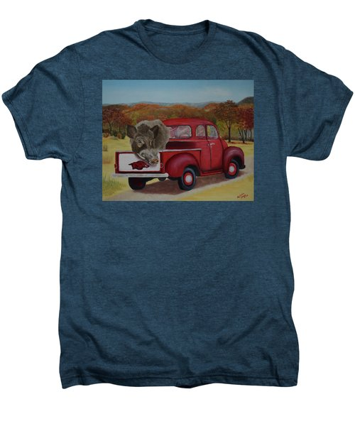 Ridin' With Razorbacks Men's Premium T-Shirt