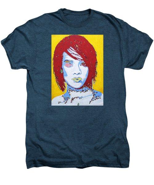 Rihanna  Men's Premium T-Shirt by Stormm Bradshaw