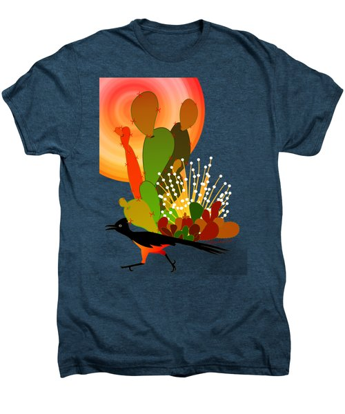Roadrunner Sunrise Men's Premium T-Shirt by Methune Hively
