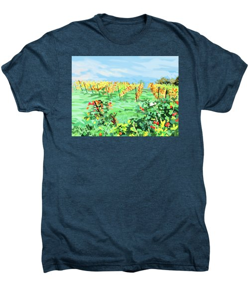 Roosthole Vineyard Men's Premium T-Shirt by Plum Ovelgonne