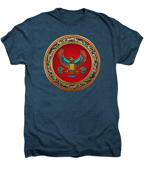 Sacred Egyptian Falcon Men's Premium T-Shirt