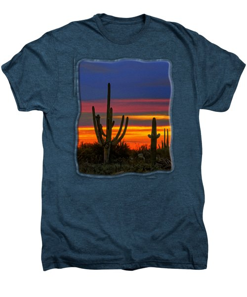 Saguaro Sunset V31 Men's Premium T-Shirt