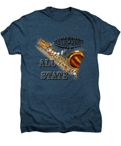 Saxophone All State Men's Premium T-Shirt