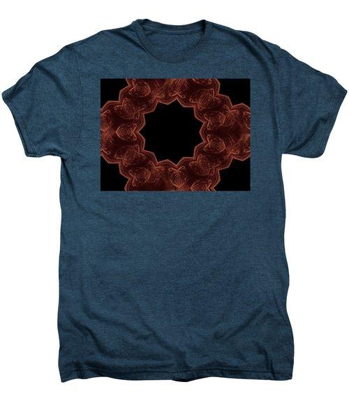 Seamless Kaleidoscope Copper Men's Premium T-Shirt