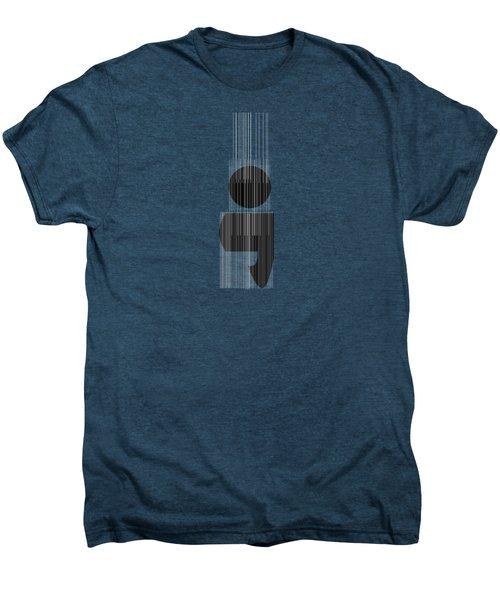 Semicolon Men's Premium T-Shirt by Bill Owen