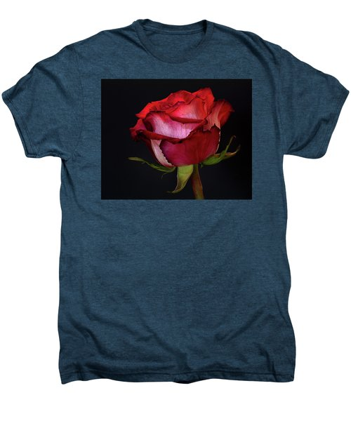 Single Rose Men's Premium T-Shirt