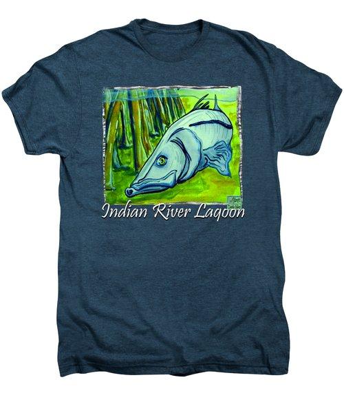 Snook Fish Men's Premium T-Shirt by W Gilroy