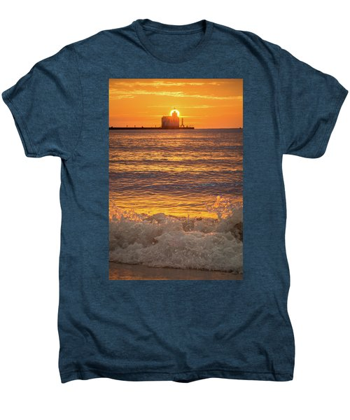 Men's Premium T-Shirt featuring the photograph Splash Of Light by Bill Pevlor