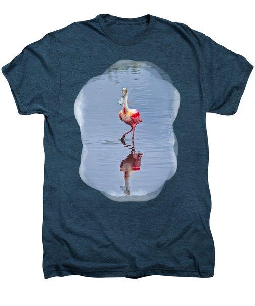 Spoonbill 2 Men's Premium T-Shirt by John M Bailey