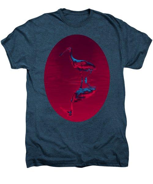 Spoonbill Abstract Decor Men's Premium T-Shirt