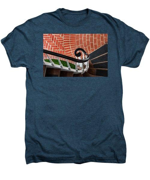 Staircase To The Plaza Men's Premium T-Shirt