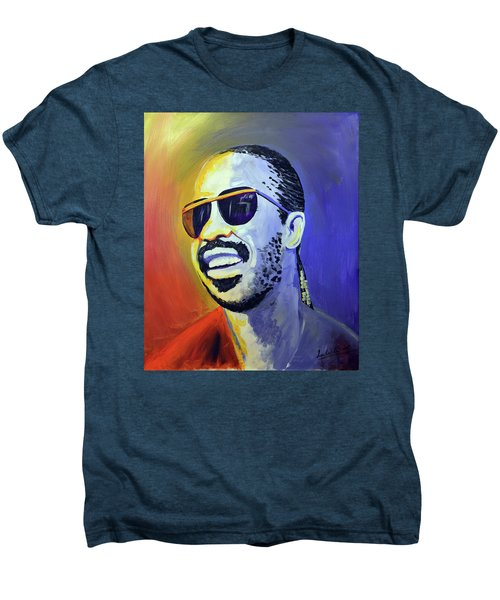 Stevie Wonder Men's Premium T-Shirt