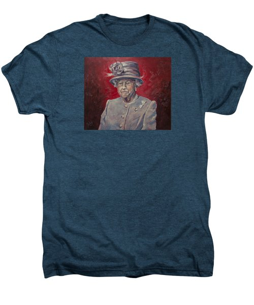 Stiff Your Upperlip And Carry On Men's Premium T-Shirt by Nop Briex