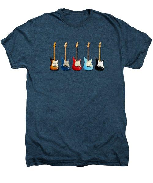 Stratocaster Men's Premium T-Shirt by Mark Rogan