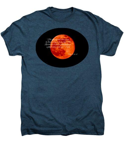 Strawberry Moon Men's Premium T-Shirt by Anita Faye