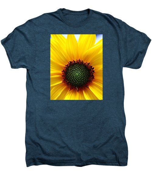 Sunflower Macro Men's Premium T-Shirt