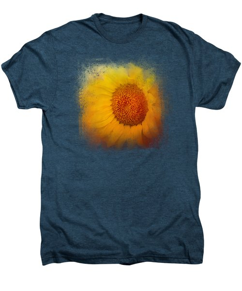 Sunflower Surprise Men's Premium T-Shirt by Jai Johnson
