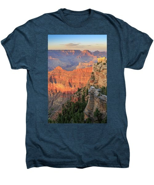Men's Premium T-Shirt featuring the photograph Sunset At Mather Point by David Chandler