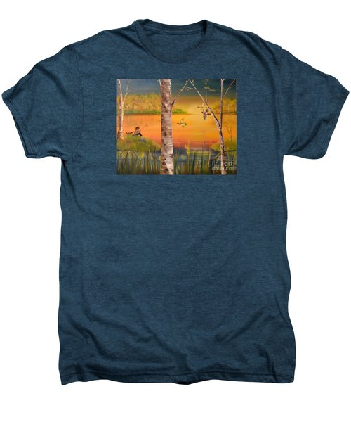 Sunset Fishing Men's Premium T-Shirt