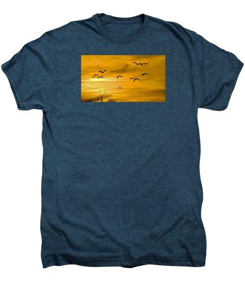 Sunset Fliers Men's Premium T-Shirt