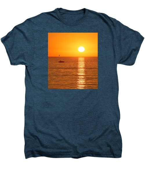 Sunset Solitude Men's Premium T-Shirt