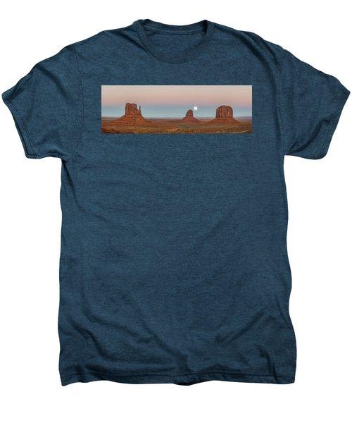 Super Moon In Monument Valley Men's Premium T-Shirt