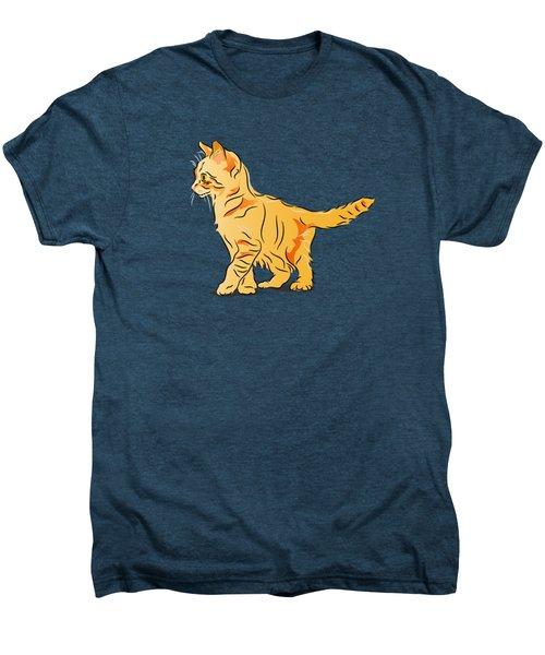 Tabby Kitten Men's Premium T-Shirt