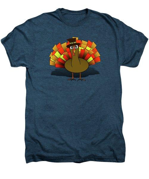 Thanksgiving Turkey Pilgrim Men's Premium T-Shirt