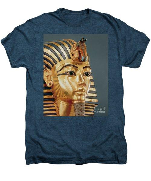 The Funerary Mask Of Tutankhamun Men's Premium T-Shirt