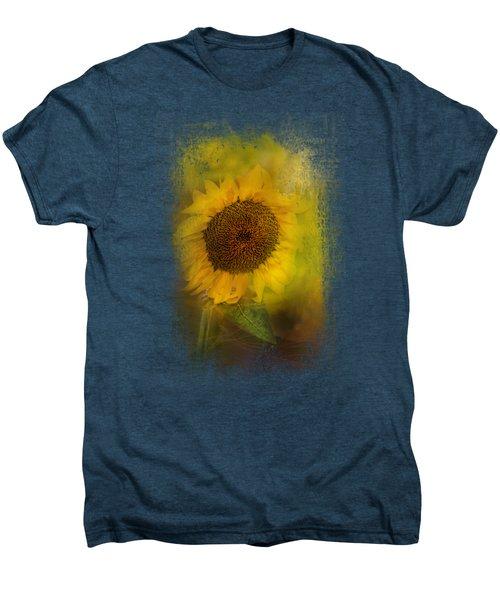 The Happiest Flower Men's Premium T-Shirt by Jai Johnson