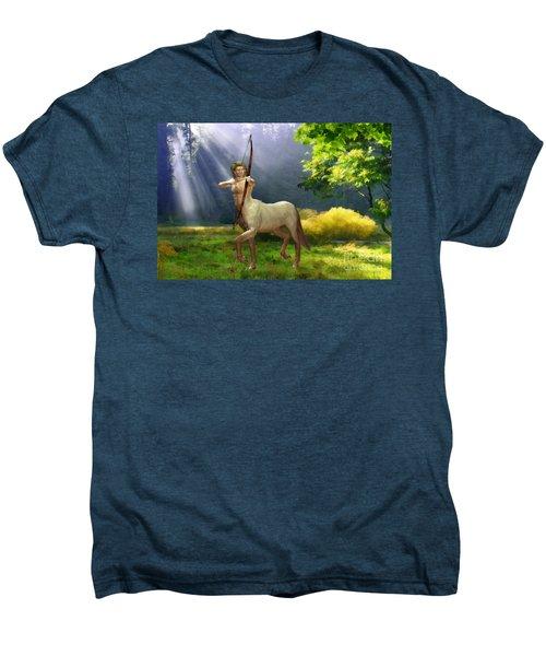 The Hunter Men's Premium T-Shirt by John Edwards