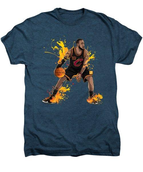 The King James Men's Premium T-Shirt by Akyanyme