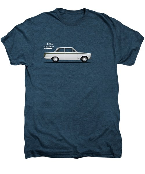 The Lotus Cortina Men's Premium T-Shirt by Mark Rogan