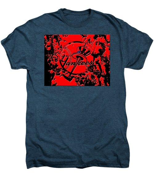 The New York Yankees B1 Men's Premium T-Shirt by Brian Reaves