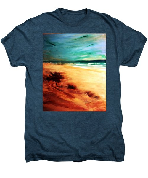 Men's Premium T-Shirt featuring the painting The Remaining Pine by Winsome Gunning