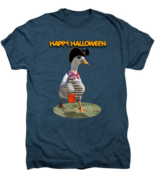 Trick Or Treat For Cap'n Duck Men's Premium T-Shirt