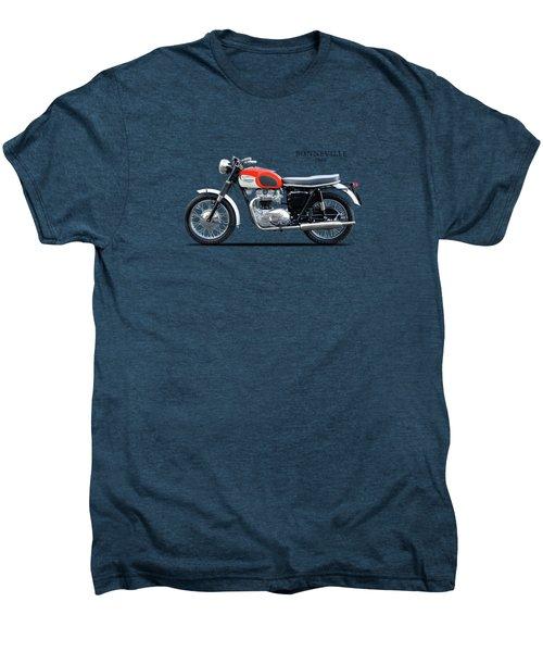 Triumph Bonneville 1966 Men's Premium T-Shirt by Mark Rogan