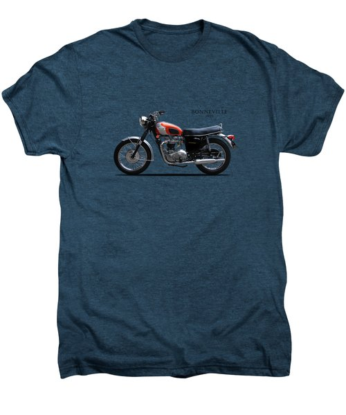 Triumph Bonneville 1969 Men's Premium T-Shirt by Mark Rogan