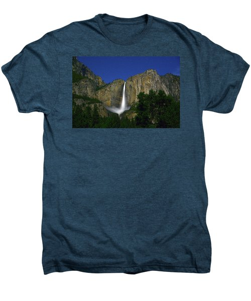 Upper Yosemite Falls Under The Stairs Men's Premium T-Shirt