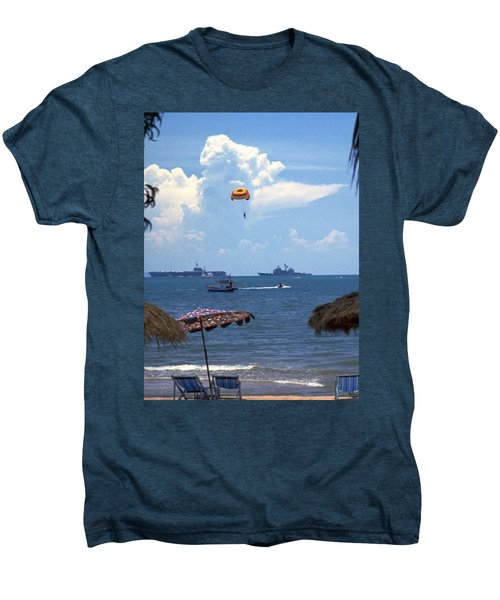 Us Navy Off Pattaya Men's Premium T-Shirt