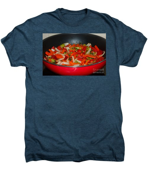 Vegetable Stir Fry By Kaye Menner Men's Premium T-Shirt by Kaye Menner