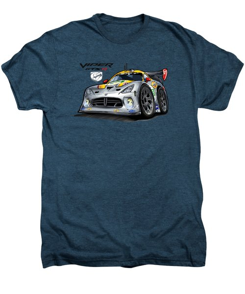 Viper Gts-r Car-toon Men's Premium T-Shirt by Steven Dahlen
