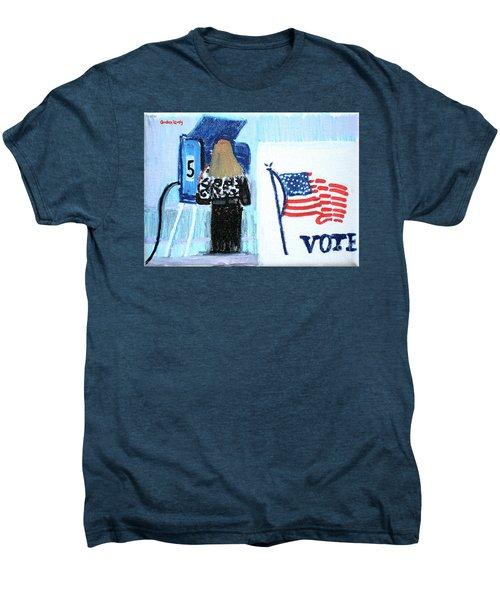 Voting Booth 2008 Men's Premium T-Shirt