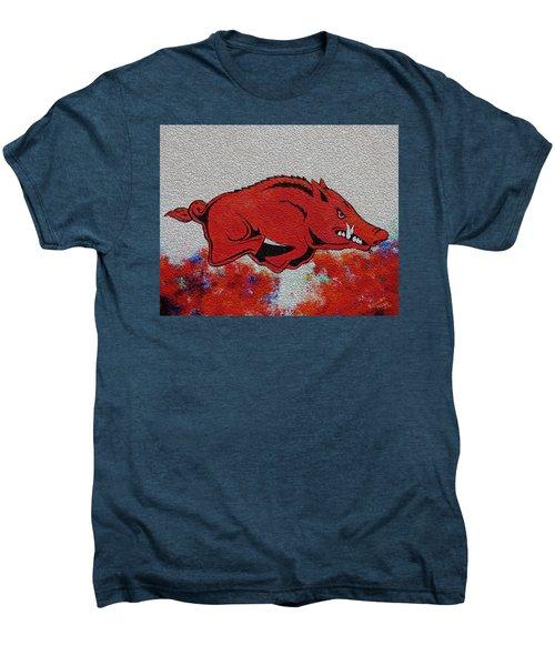 Woo Pig Sooie 2 Men's Premium T-Shirt by Belinda Nagy