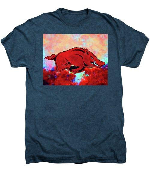 Woo Pig Sooie 3 Men's Premium T-Shirt by Belinda Nagy