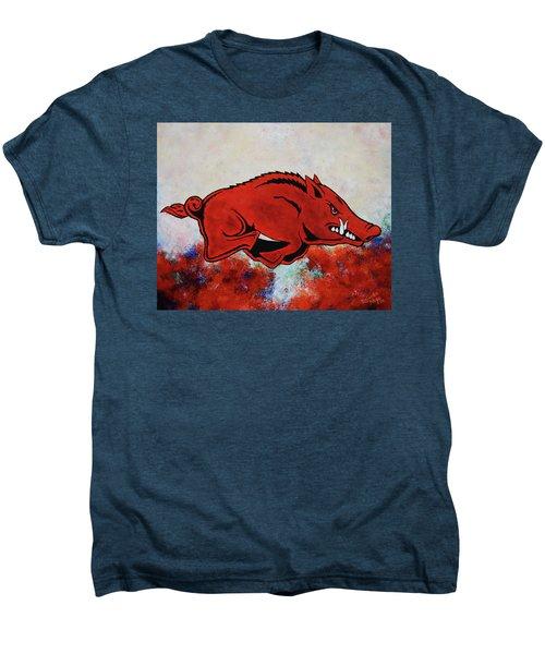 Woo Pig Sooie Men's Premium T-Shirt by Belinda Nagy