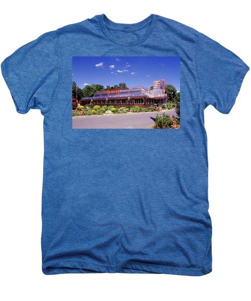 1990s Classic Art Deco Style Diner Hyde Men's Premium T-Shirt